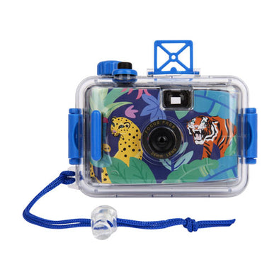 Jungle Print Underwater Kids Camera - Retro Kids