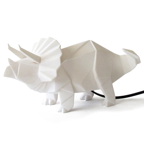 White Dinosaur Lamp
