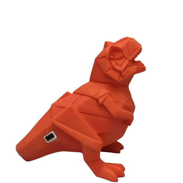 LED Orange T-Rex Dinosaur Light