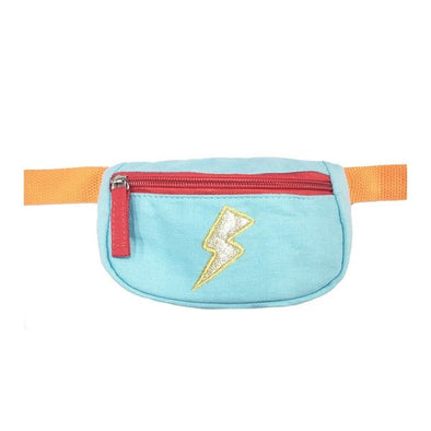 Retro Lightning Bolt Bum Bag