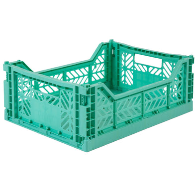 Folding Crate in Mint - Retro Kids