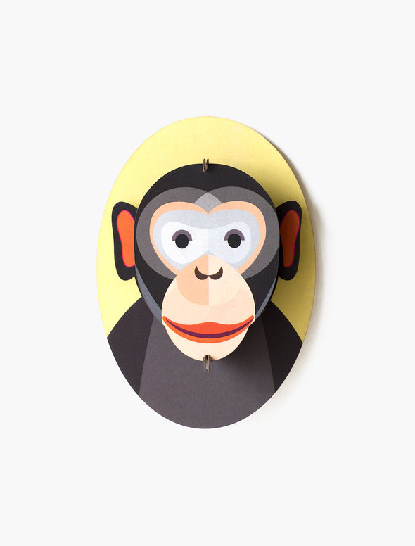 Mini Animal Monkey Head