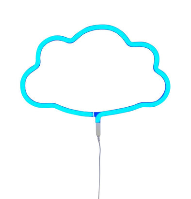 Neon Blue Cloud Light