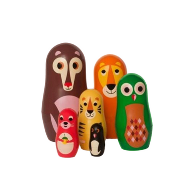 Mini Animal Nesting Dolls