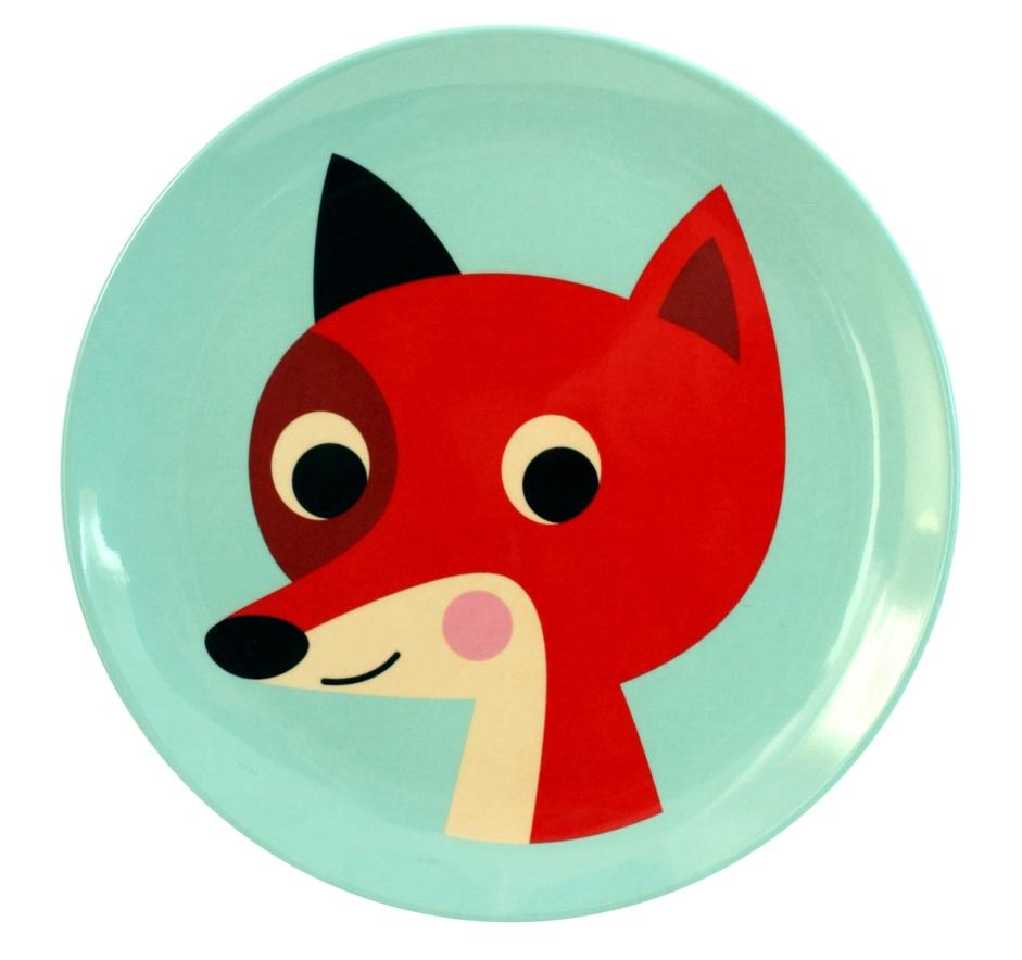 Fox Mint Plate - Retro Kids