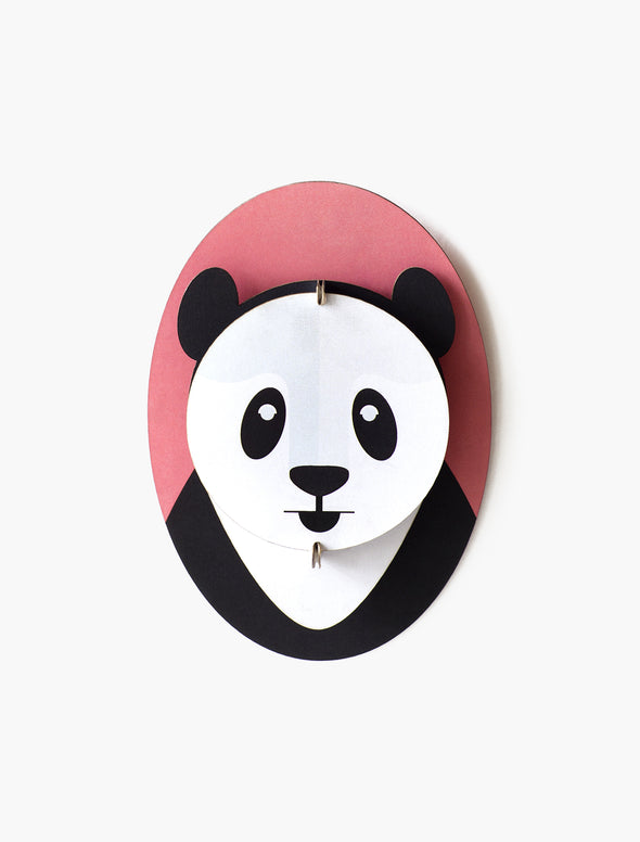 Mini Animal Panda Head