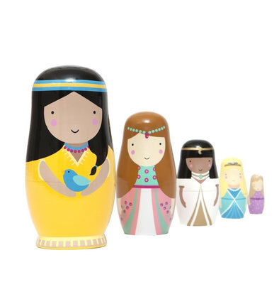 Princess Sketch Inc Nesting Dolls