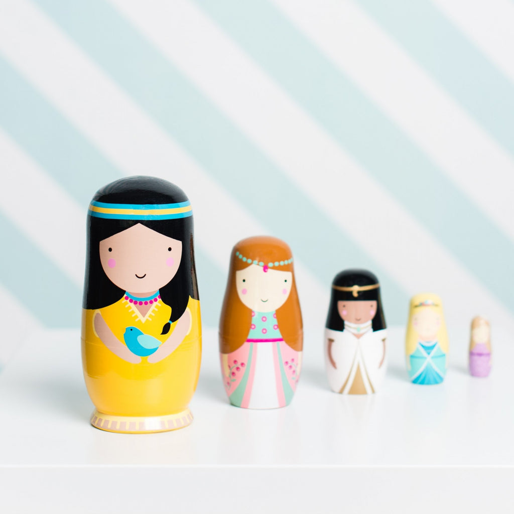 Princess Sketch Inc Nesting Dolls - Retro Kids