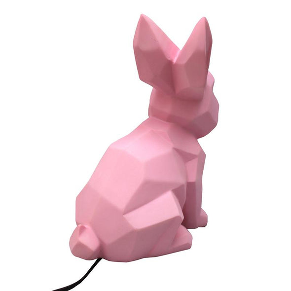 Pink Rabbit Lamp - Retro Kids