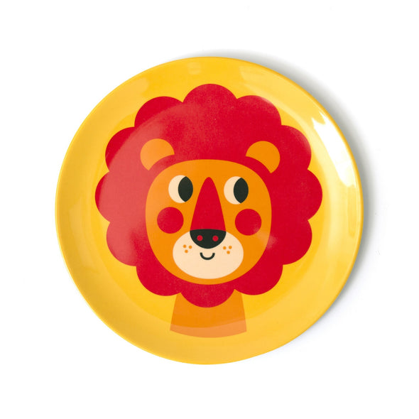 New Lion Plate - Retro Kids