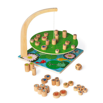 Waterlily Wooden Balance Game
