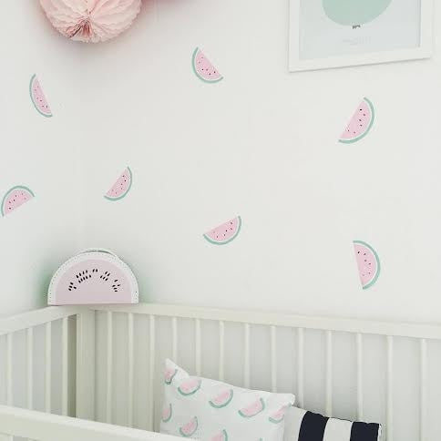 Watermelon Wall Stickers - Poli & Oli
