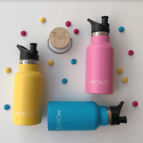 Insulated Water Bottle in Blush Pink