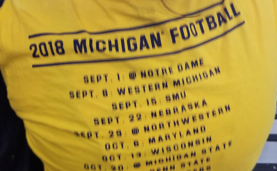 Popular Michigan Shirts
