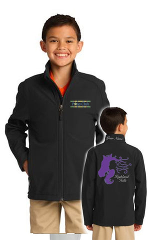 Youth Port Authority Soft Shell Jacket (Y317)