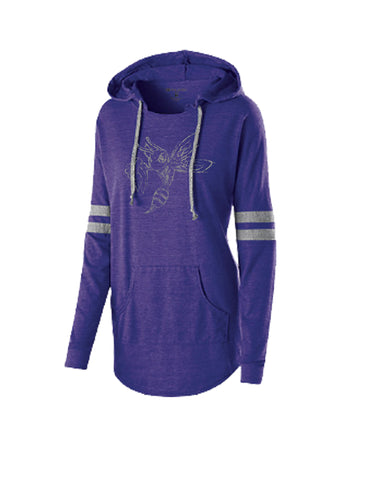 229390 - Ladies Hooded Low-Key Pullover