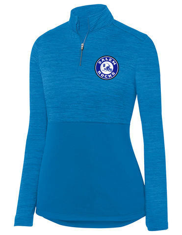 Womens Shadow Tonal Heather Quarter Zip Pullover