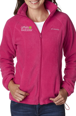 6439 - Columbia Ladies Full Zip Fleece