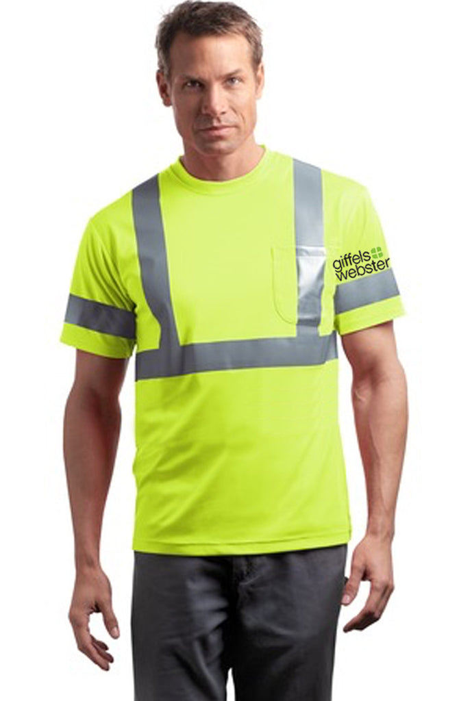 CS401 - ANSI 107 Class 2 Safety Shirt