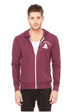 C3939 - Bella+Canvas Triblend Full-Zip Lightweight Hoodie