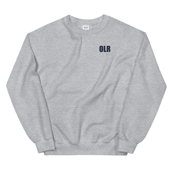 Light Steel Adult OLR Crewneck Sweatshirt