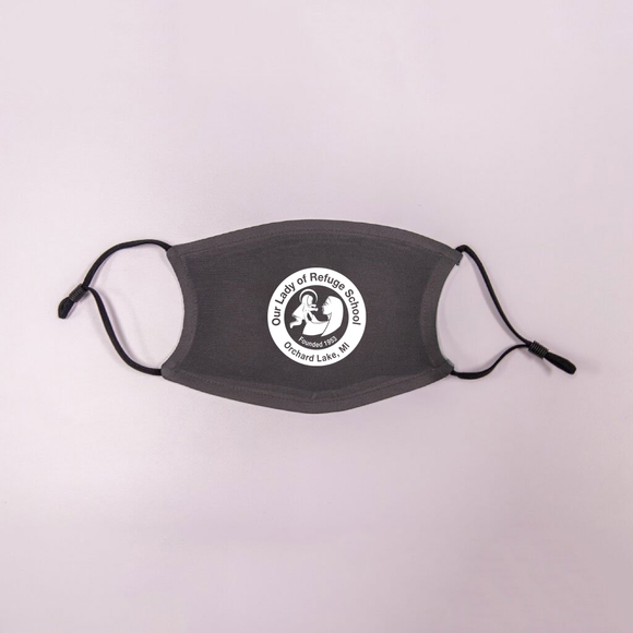 Grey Adult OLR Face Mask