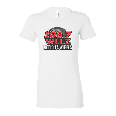 WHITE Ladies Short Sleeve