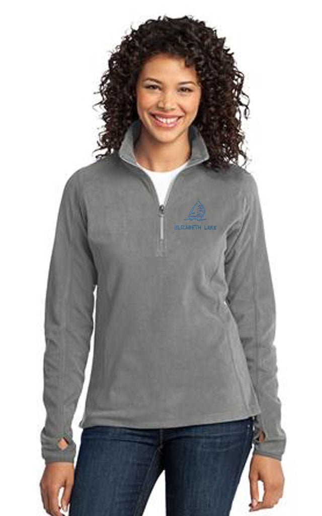 L224 - Port Authority Ladies Fleece 1/4 Zip Pullover