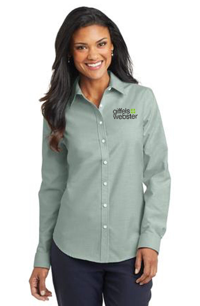 L658 Ladies Port Authority Oxford Shirts