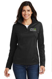 L806 - Port Authority Ladies Mesh 1/2 Zip