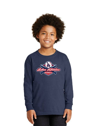 YOUTH LONG SLEEVE COTTON T SHIRT