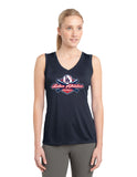 WOMENS DRI FIT SLEEVELESS T SHIRT