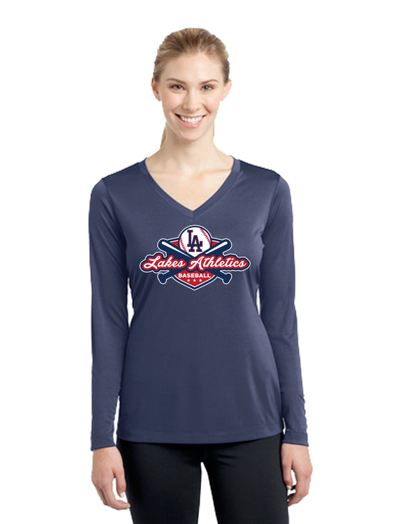 WOMENS DRI FIT LONG SLEEVE T SHIRT
