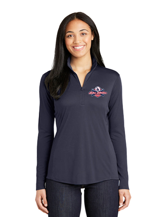 WOMENS DRI FIT 1/4 ZIP