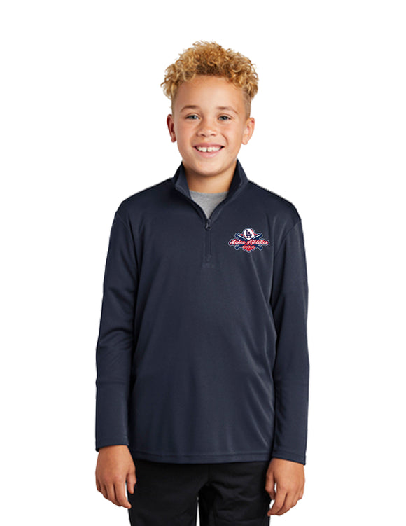 YOUTH DRI FIT 1/4 ZIP