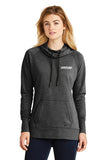 Ladies Tri Blend Fleece Pullover Hoodie