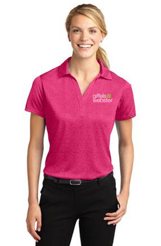 ST660 - Sport-Tek Ladies Heather Contender Polo