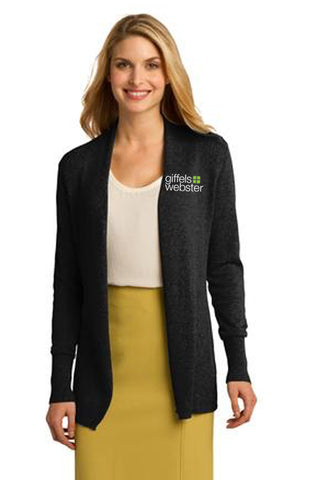 LSW289 - Port Authority Ladies Cardigan Sweater