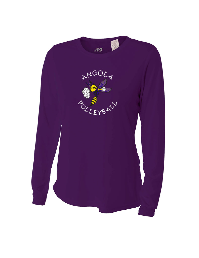 NW3002 - Ladies Long Sleeve Crew Shirt