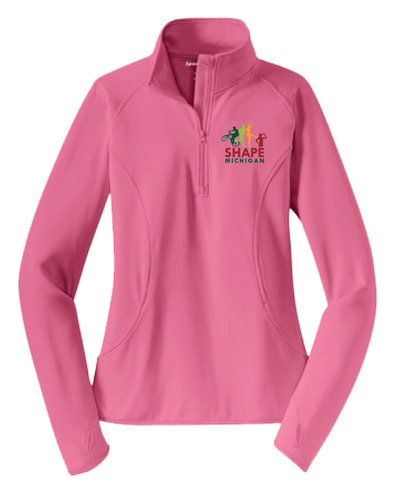LST850 Ladies 1/2 Zip
