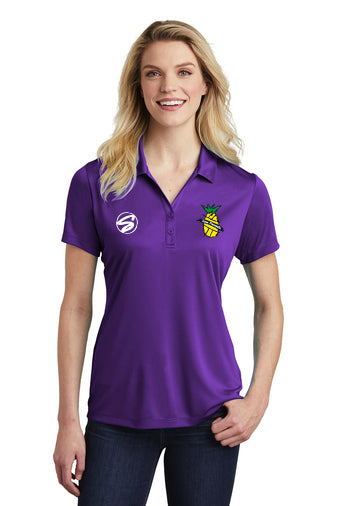 LST550 SportTek ladies performance polo