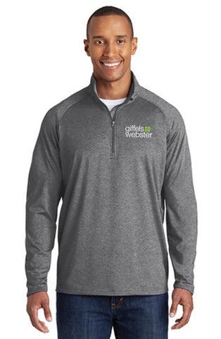 TST850 - TALL Sport-Tek Sport-Wick Stretch 1/2 Zip