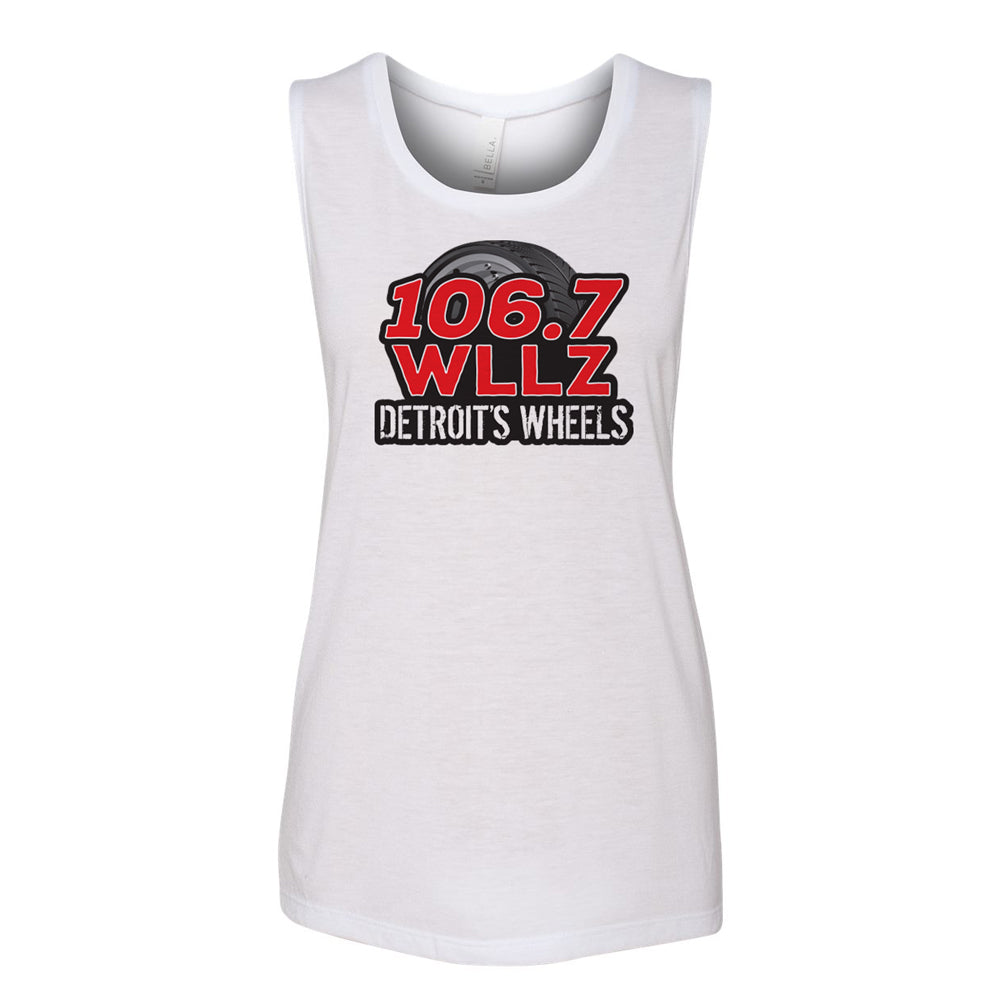 WHITE Women's Jersey Tank Top