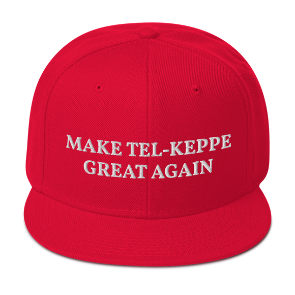MAKE TEL-KEPPE GREAT AGAIN HAT