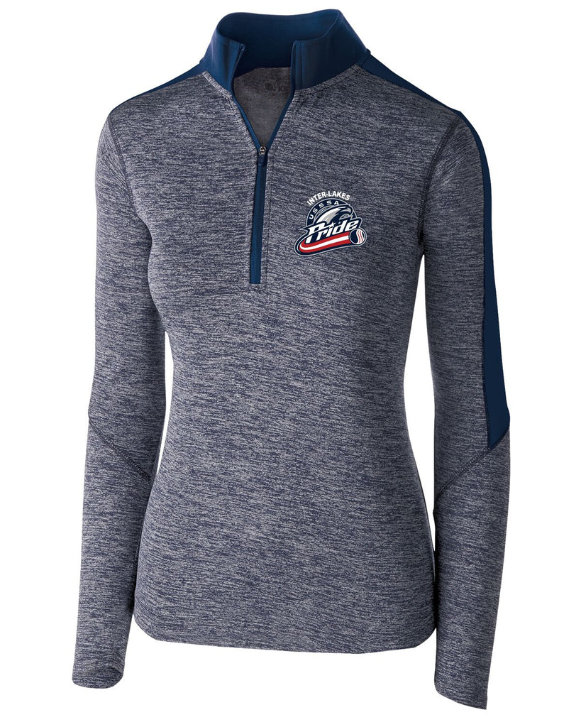 Holloway 222742 Women's Electrify 1/2 Zip Pullover