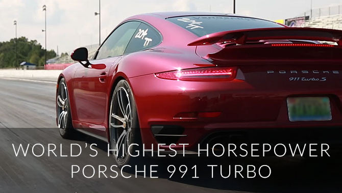 World's Highest Horsepower Porsche 991 Turbo