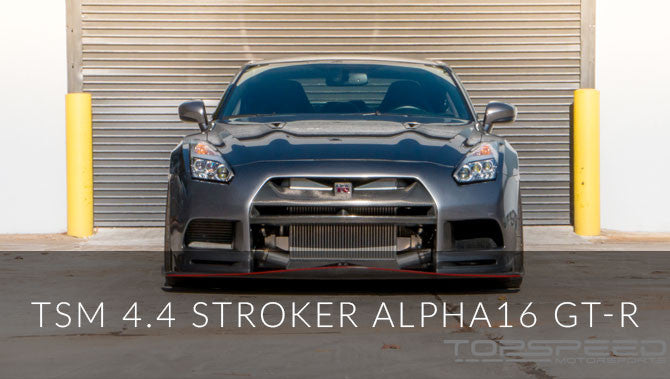 Another Legendary TSM 4.4 Stroker Alpha16 GT-R!!! With a Twist!!!