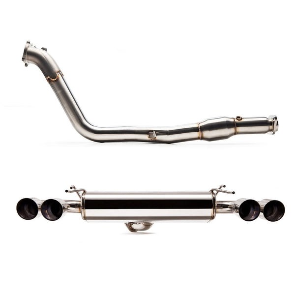 "Cobb Tuning SUBARU SS 3"" TURBOBACK EXHAUST - TopSpeed Motorsports - 1"