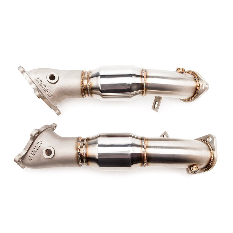 Cobb Tuning NISSAN GT-R CATTED CAST BELLMOUTH DOWNPIPES - TopSpeed Motorsports - 1
