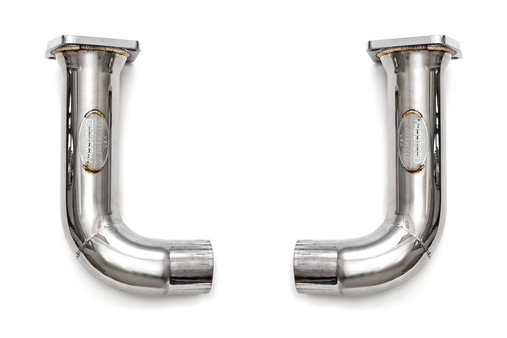 Fabspeed Porsche 991 Turbo / Turbo S Catbypass Pipes